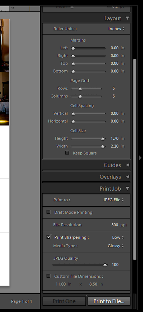 lightroom setting